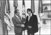 Elvis Presley at the white house