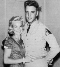 Elvis and Anita Wood _Elvis first girlfriend