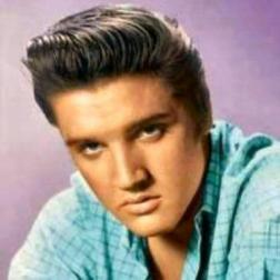Elvis with brown