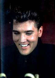 Elvis with his big smile