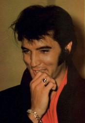 Elvis with his charming smile