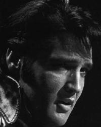 Elvis crying