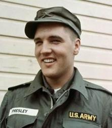 US army Elvis Presley