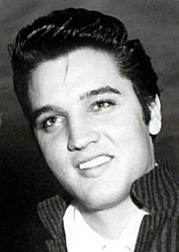 young Elvis Presley protrait